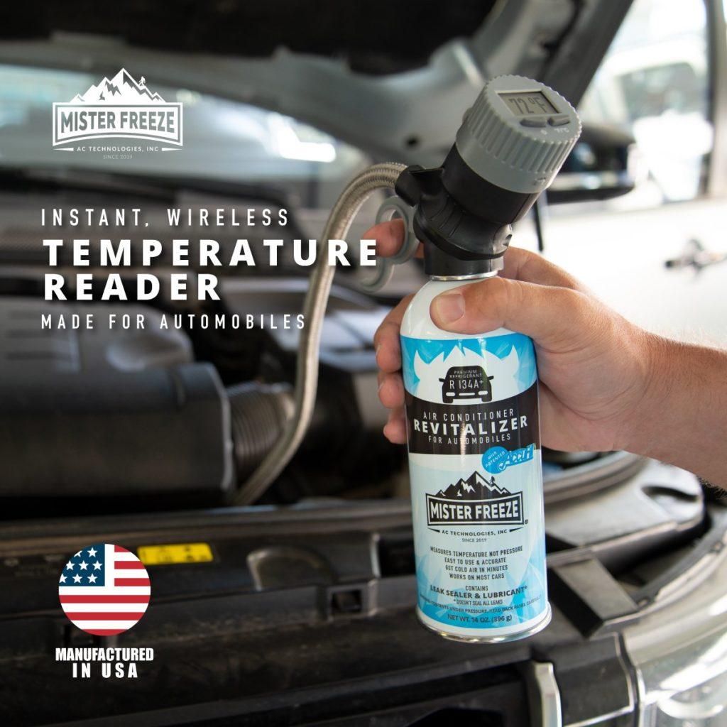 Temperature Reader For Automobiles