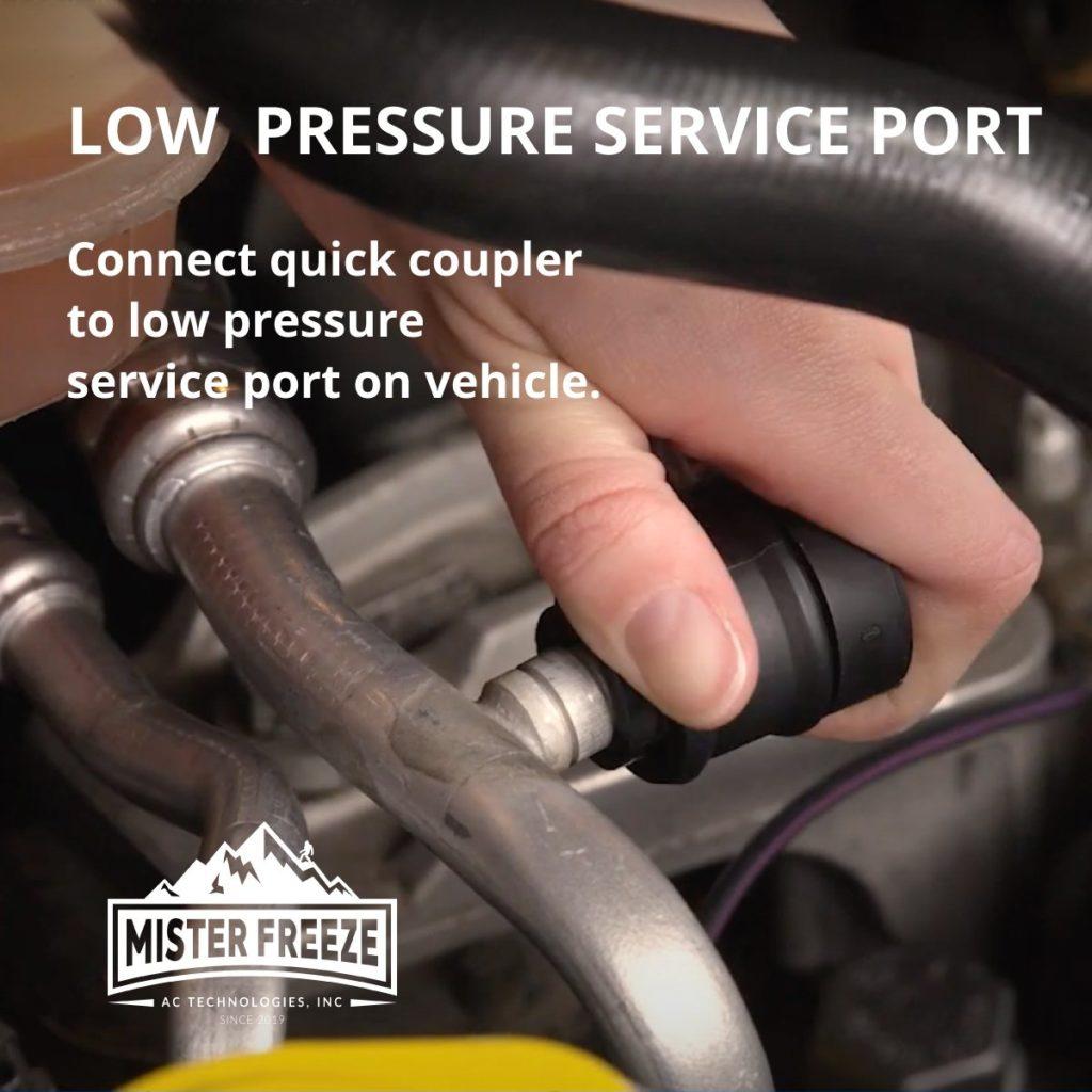 Low Pressure Service Port
