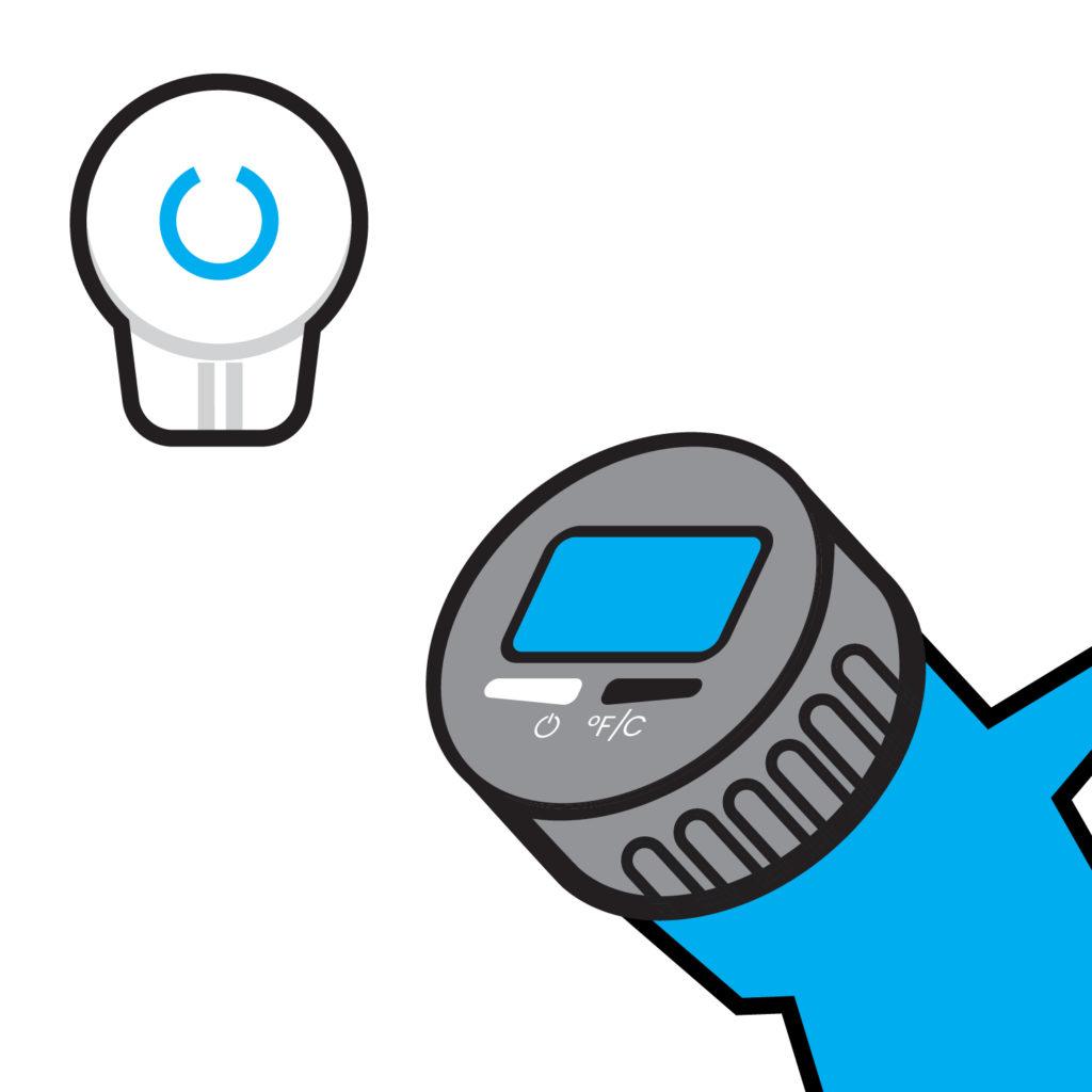 Mister Freeze sensor connection